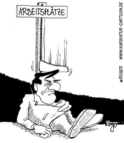 Karikatur, Cartoon: Wachstum, © Roger Schmidt