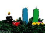 Karikatur, Cartoon: Zweiter Advent © Roger Schmidt